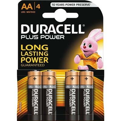 Duracell Plus Power Battery AA Pack of 8