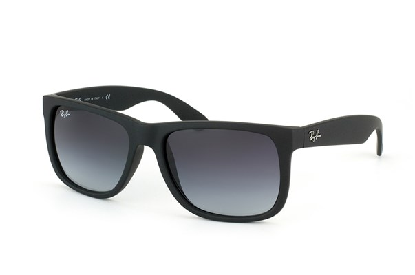 Ray-Ban Justin RB4165 601/8G  Sunglasses - Matte Black