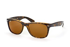 Ray-Ban New Wayfarer Sunglasses RB2132 710 - Brown