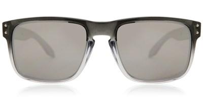 Oakley Holbrook Sunglasses OO9102 A9 Polarized  - Dark Ink Fade / Chrome Iridium