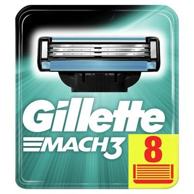Gillette Mach3 Razor Blades (8x)