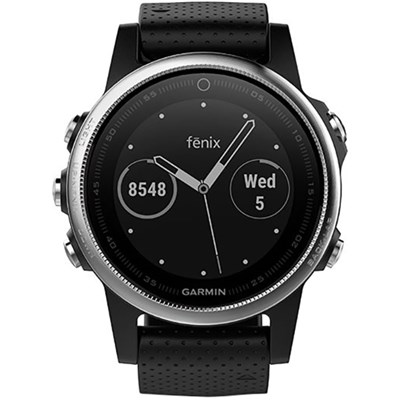 Garmin Fenix 5S Multisport GPS Watch - Black
