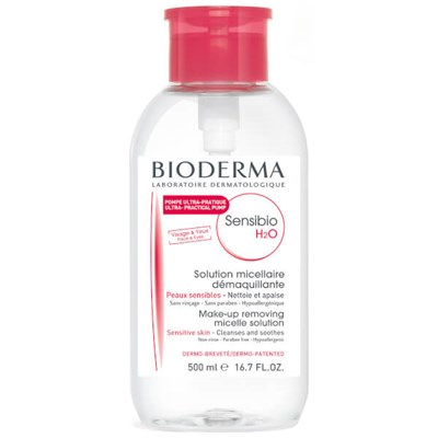Bioderma Sensibio H2O Micellar Water 500ml / 17oz
