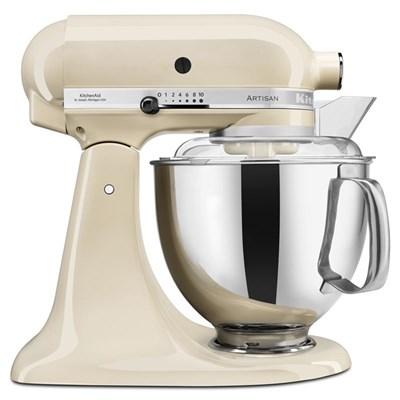 KitchenAid 5KSM175PSBAC 4.8 Litre Artisan Stand Mixer, Almond Cream