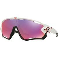Oakley Jawbreaker Sunglasses  OO9290 05  Prizm  Polished - White Frame