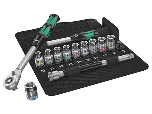 Wera 8006 SC 1 Juego de carraca Zyklop Hybrid, Kit de herramientas