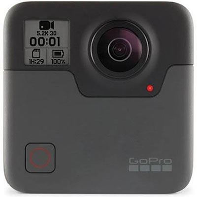 GoPro Fusion Black 360 Action Camera