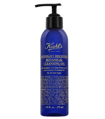 Kiehl's Midnight Recovery Botanical Cleansing Oil, 175ml / 6oz