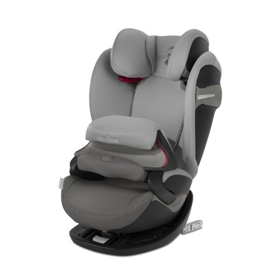 Cybex Pallas S-Fix Group 1/2/3 Car Seat - Grey