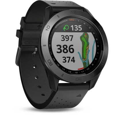 Garmin Approach S60 GPS Premium Watch - Black