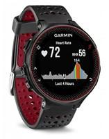 Garmin Forerunner 235 HR GPS Multisport Watch - Black / Red
